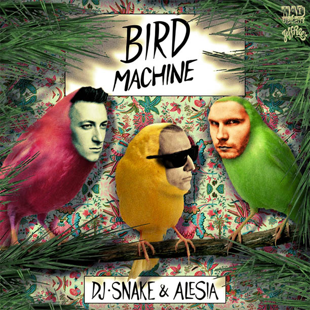 Видео: dj snake (feat. Alesia) bird machine (jingle bells.